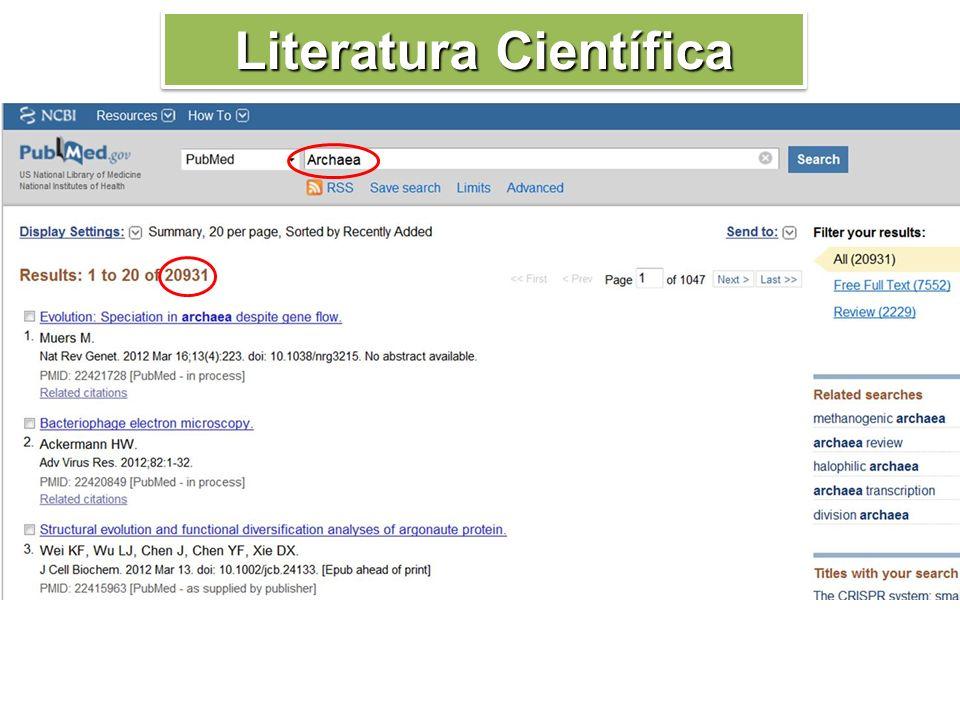 Literatura Científica