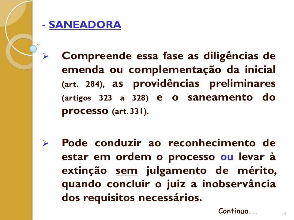 - SANEADORA