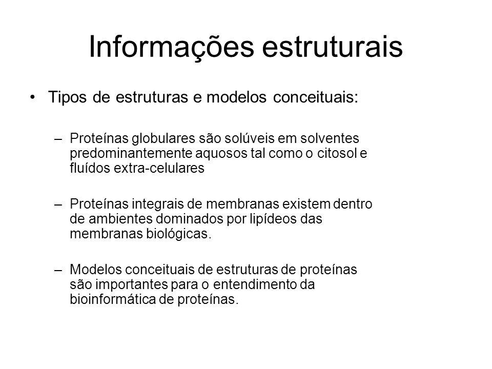 Informações estruturais