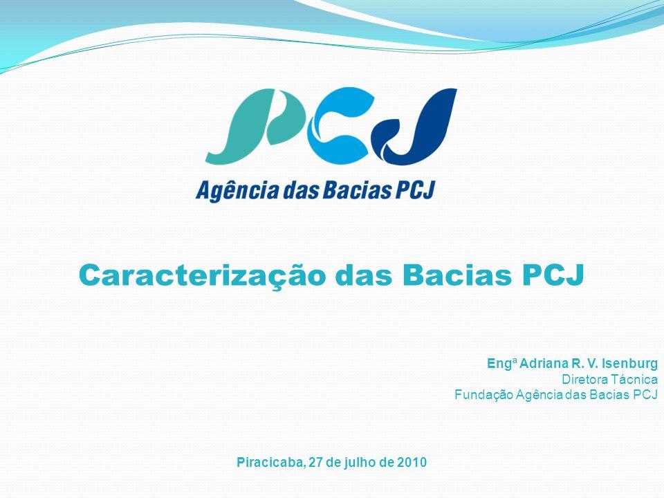 Caracterização das Bacias PCJ