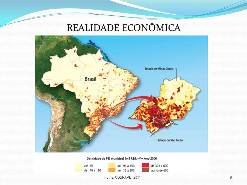 REALIDADE ECONÔMICA Fonte: COBRAPE, 2011