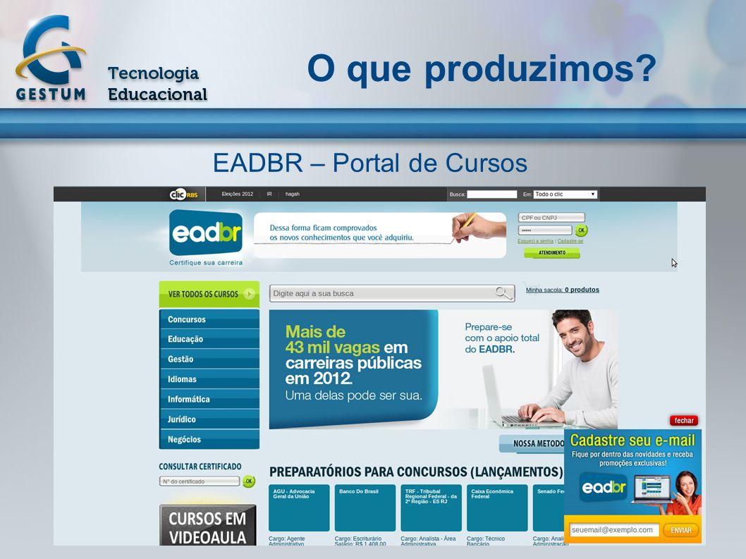 EADBR – Portal de Cursos