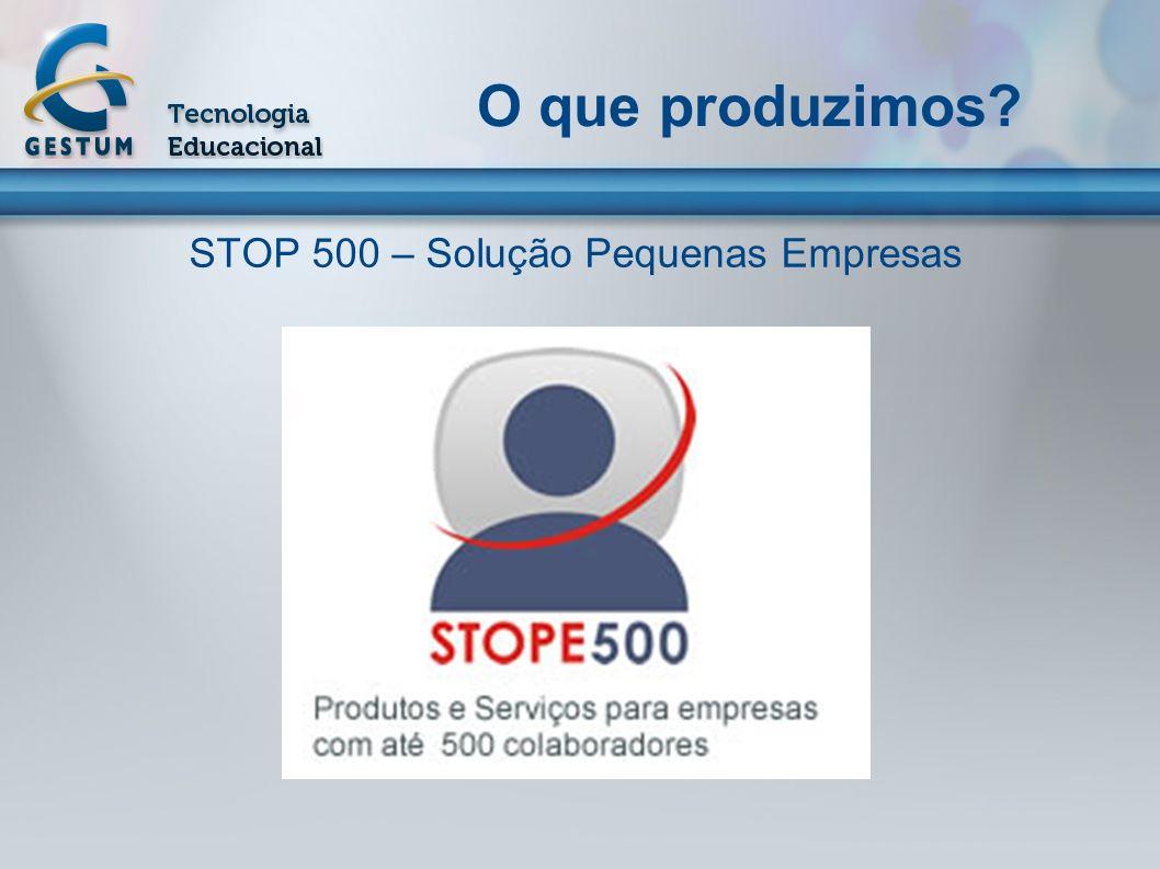 STOP 500 – Solução Pequenas Empresas
