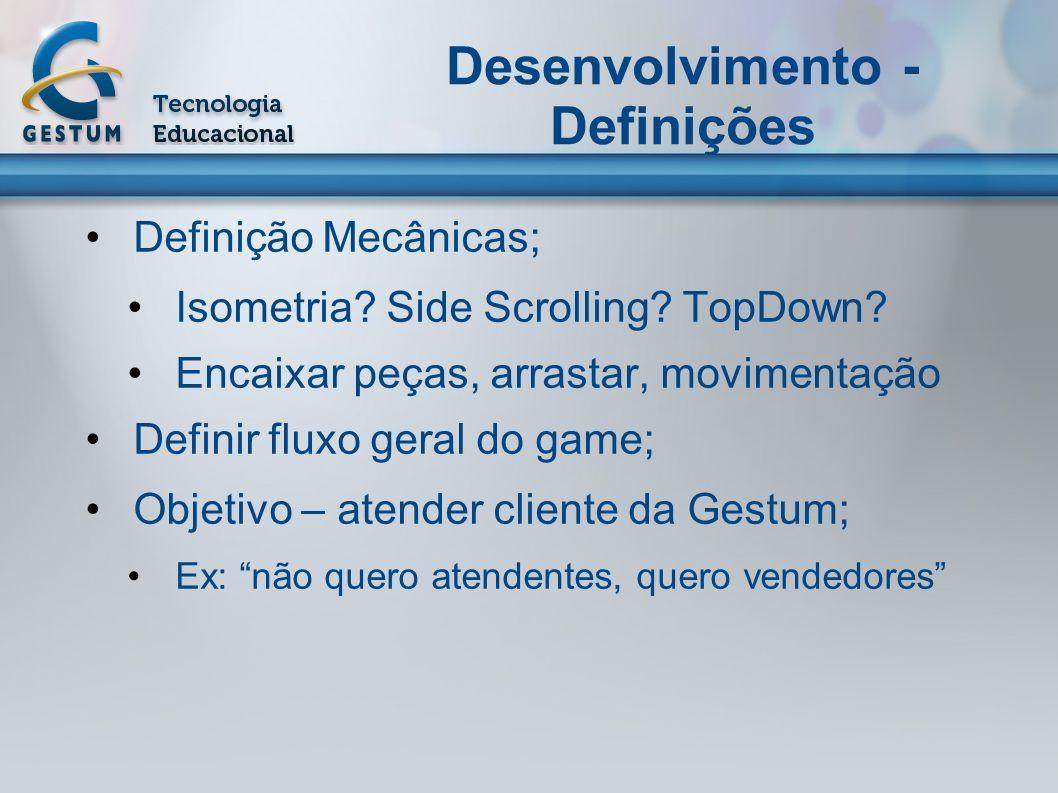 Desenvolvimento - Definições