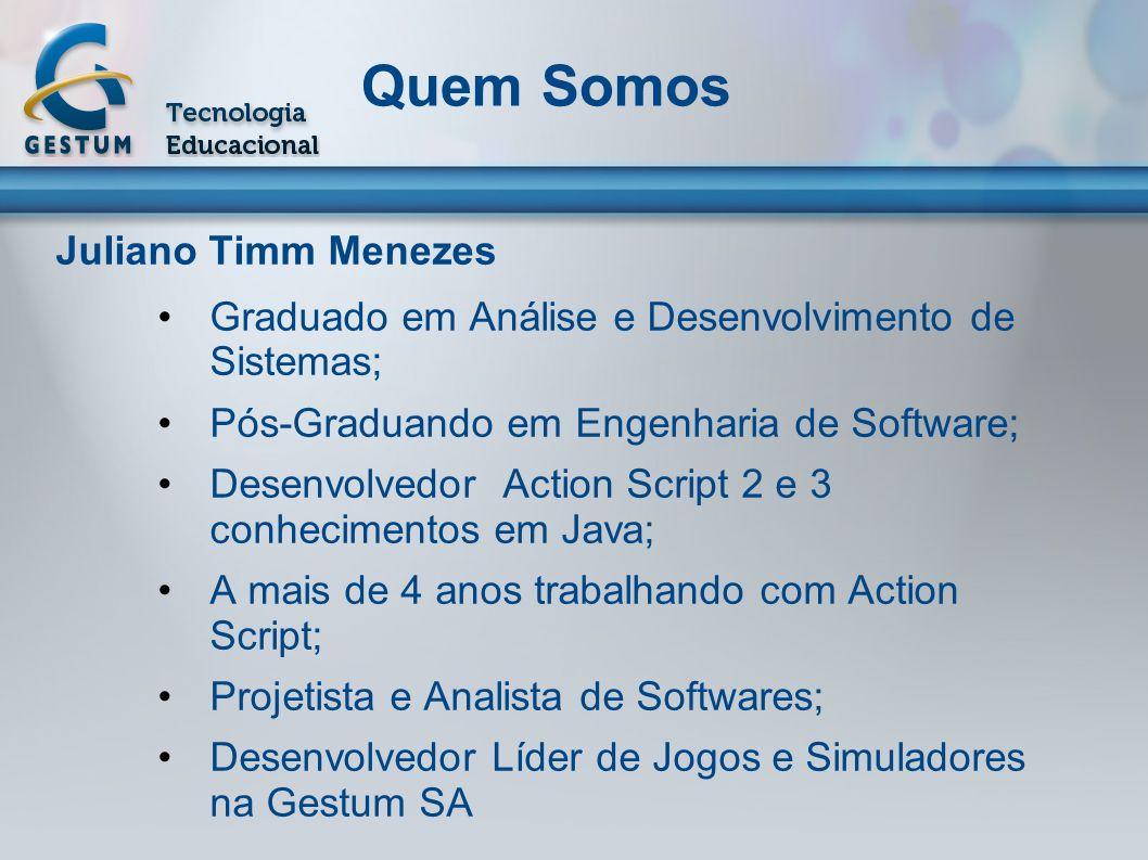 Quem Somos Juliano Timm Menezes