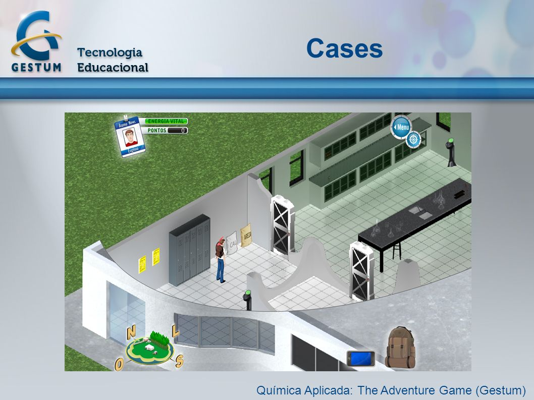 Cases Química Aplicada: The Adventure Game (Gestum)