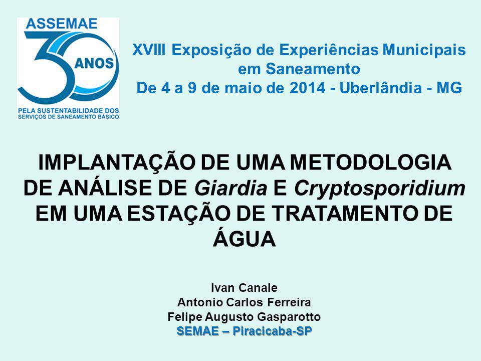 XVIII Exposição de Experiências Municipais em Saneamento
