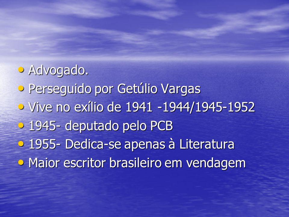 Advogado. Perseguido por Getúlio Vargas. Vive no exílio de 1941 -1944/1945-1952. 1945- deputado pelo PCB.