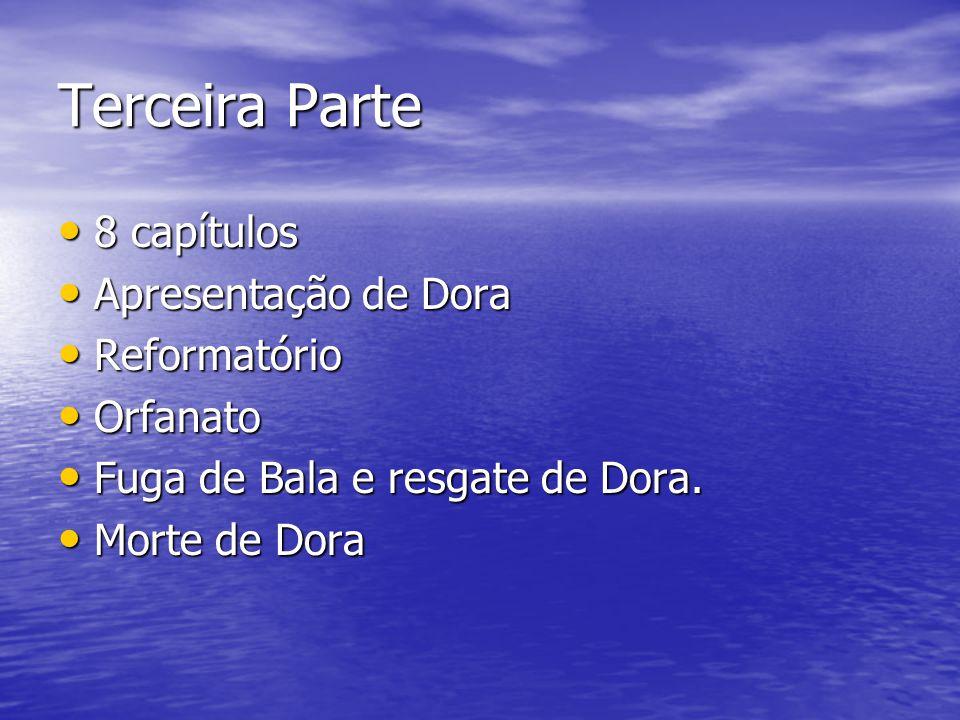 Terceira Parte 8 capítulos Apresentação de Dora Reformatório Orfanato