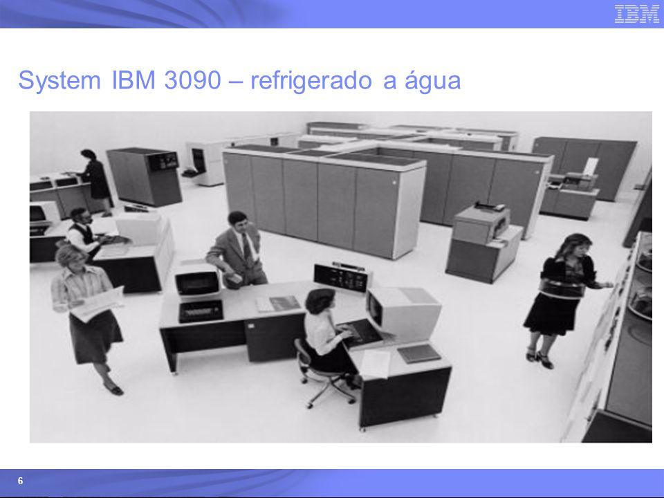 System IBM 3090 – refrigerado a água