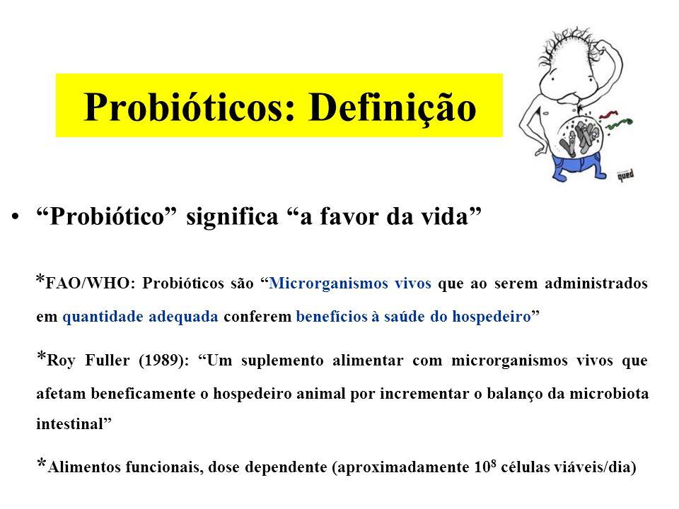 Probióticos: Definição