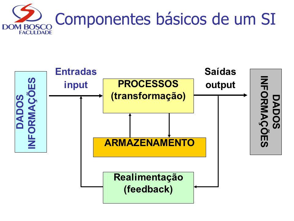 Componentes básicos de um SI