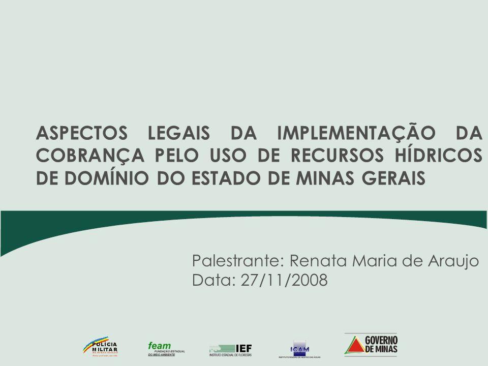 Palestrante: Renata Maria de Araujo Data: 27/11/2008