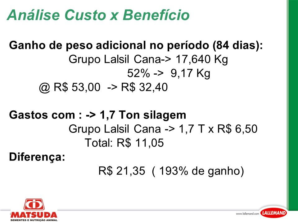 Análise Custo x Benefício