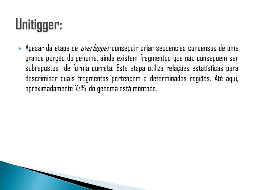 Unitigger: