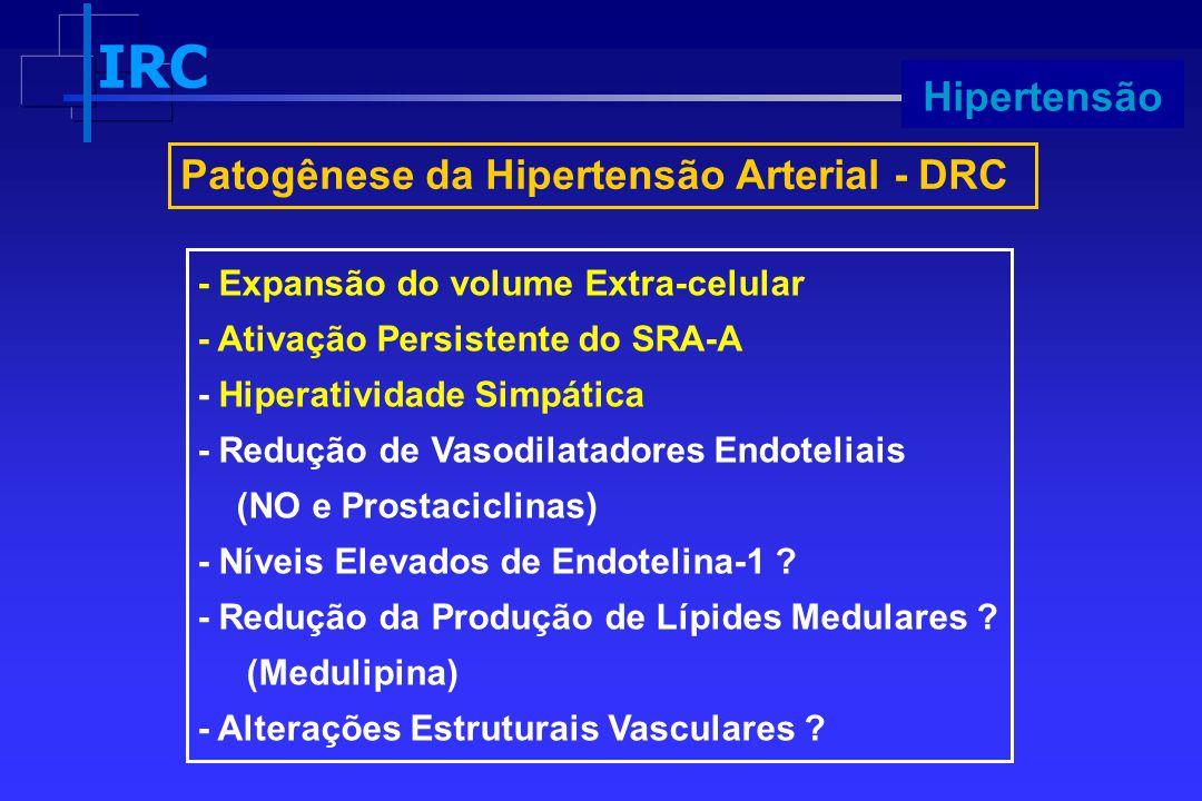 Patogênese da Hipertensão Arterial - DRC