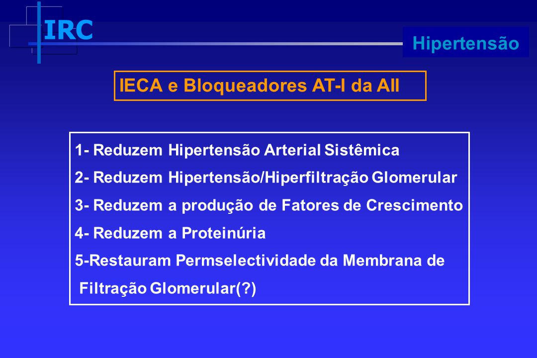 IECA e Bloqueadores AT-I da AII