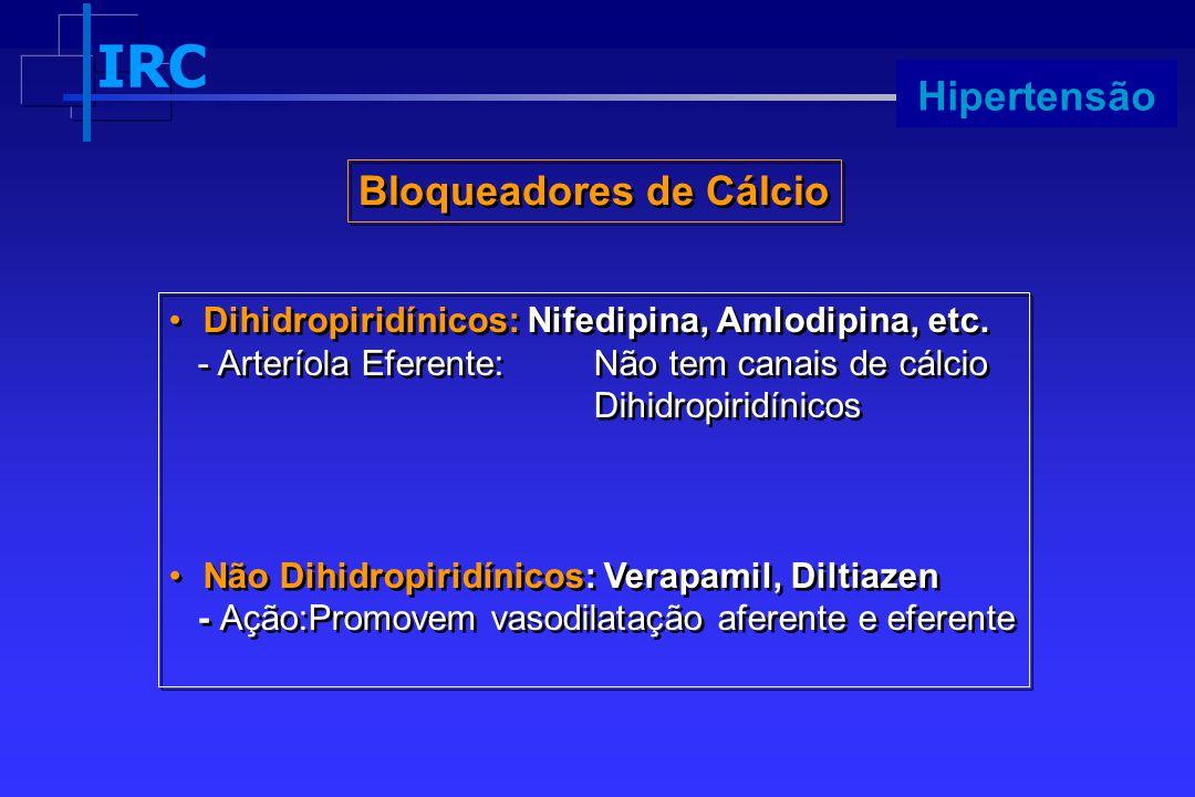 Bloqueadores de Cálcio