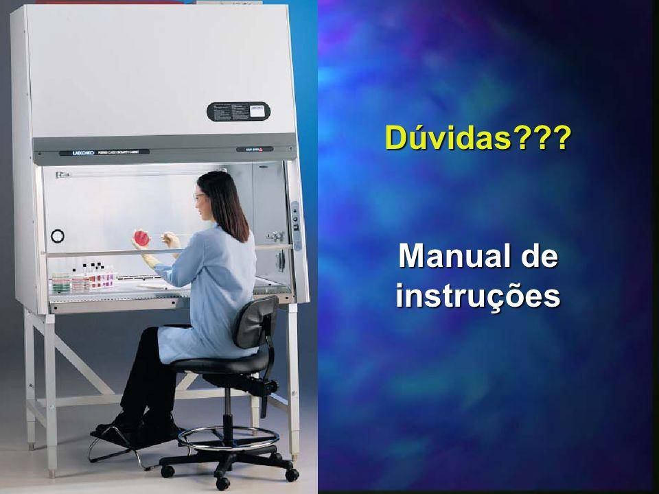 Dúvidas Manual de instruções