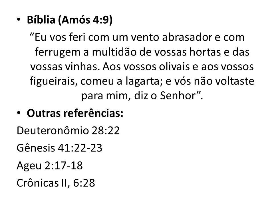 Bíblia (Amós 4:9)