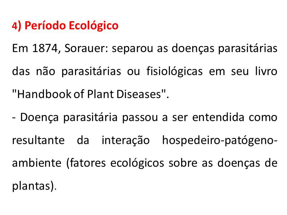 4) Período Ecológico