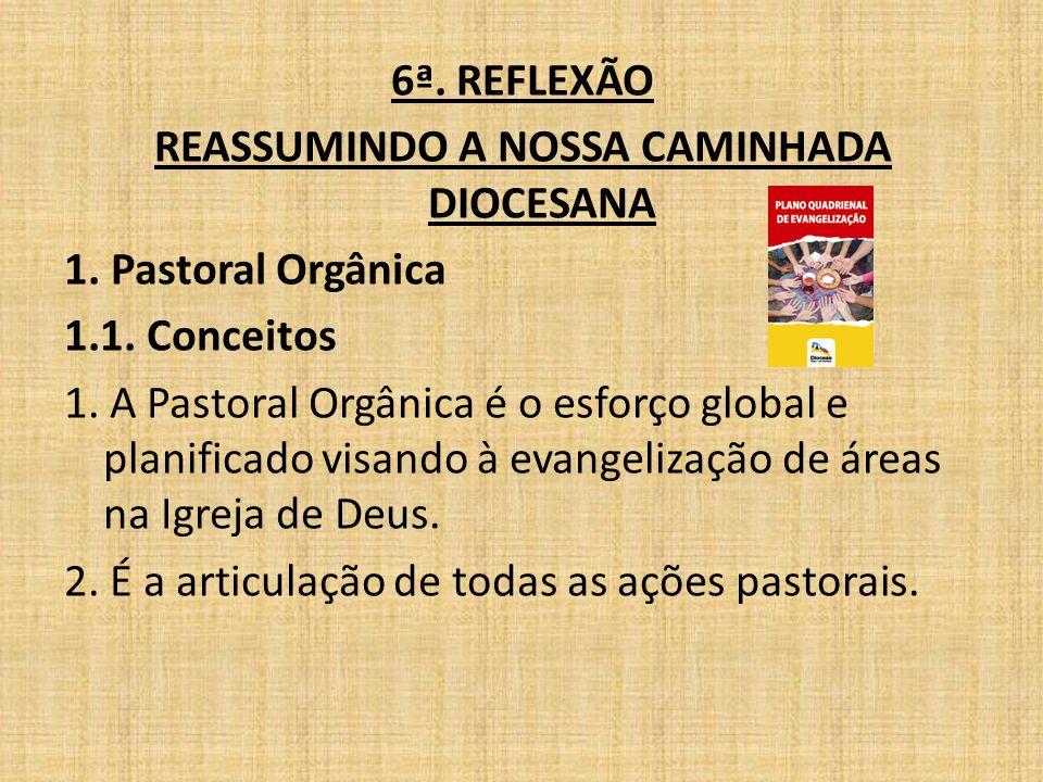 REASSUMINDO A NOSSA CAMINHADA DIOCESANA
