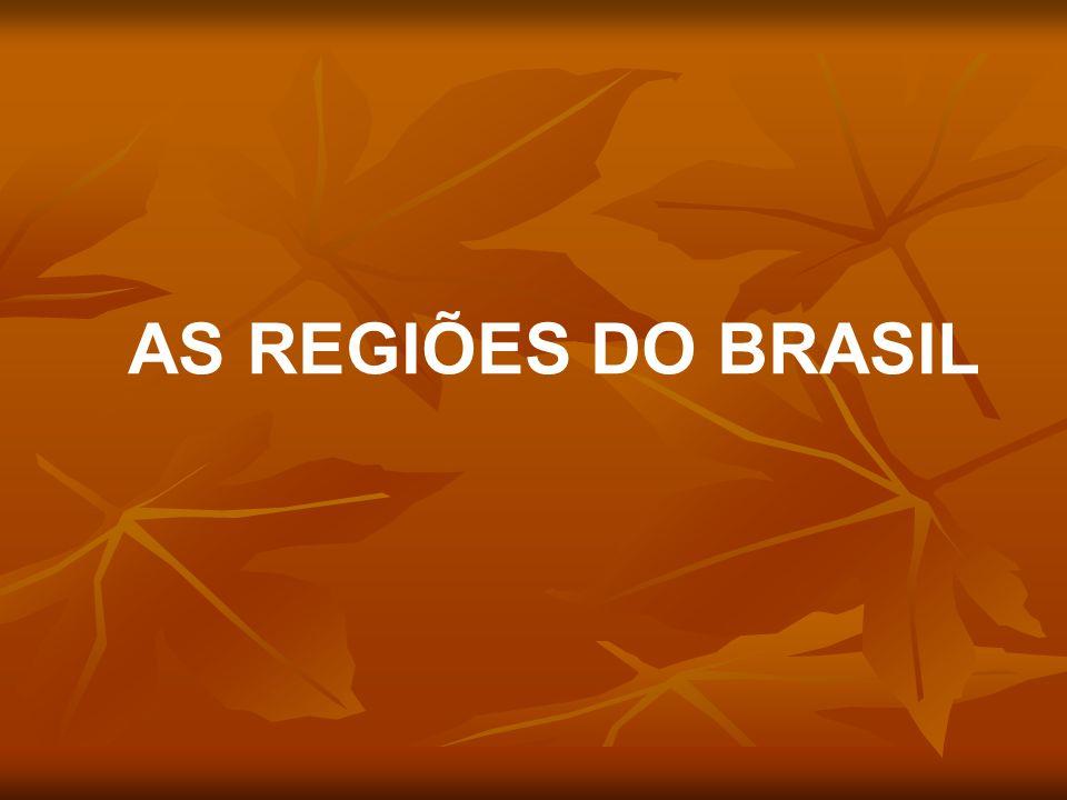 AS REGIÕES DO BRASIL