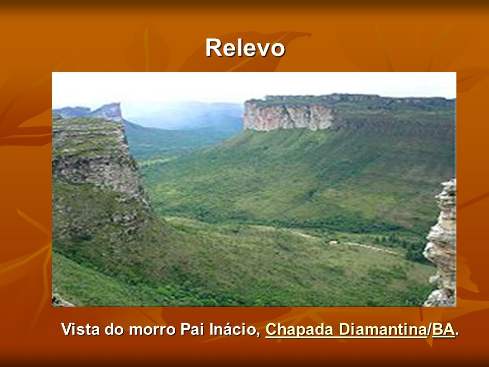 Vista do morro Pai Inácio, Chapada Diamantina/BA.