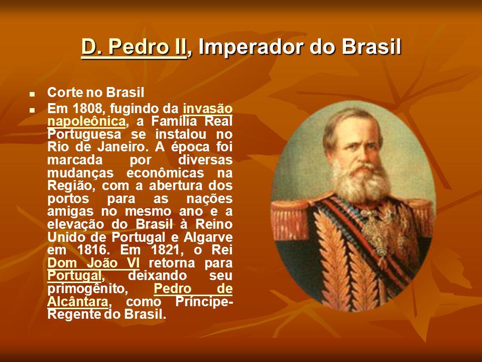 D. Pedro II, Imperador do Brasil