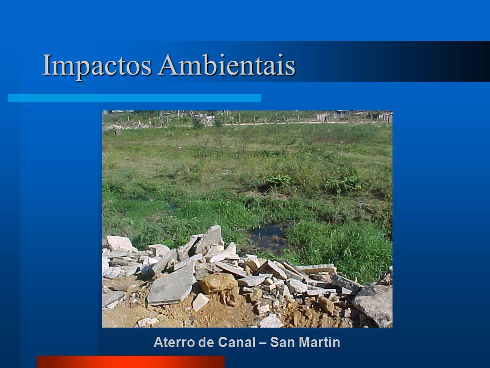 Aterro de Canal – San Martin