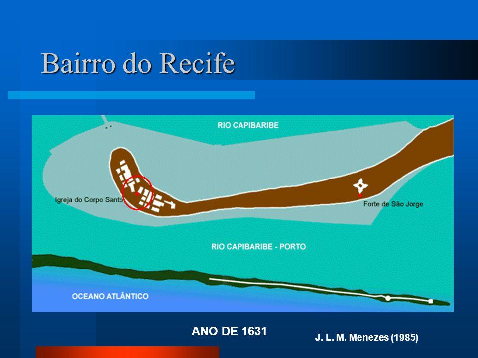 Bairro do Recife ANO DE 1631 J. L. M. Menezes (1985)