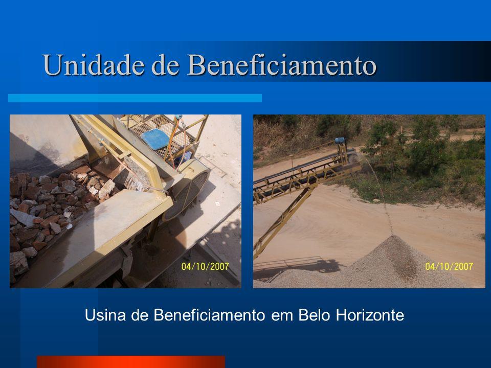 Usina de Beneficiamento em Belo Horizonte