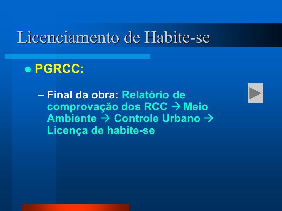 Licenciamento de Habite-se
