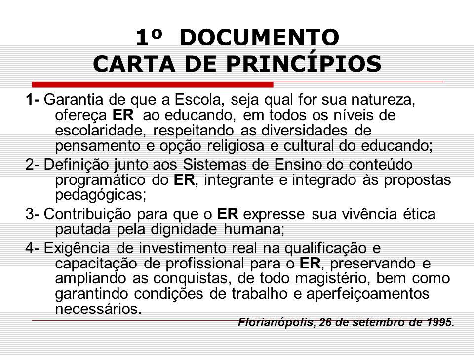 1º DOCUMENTO CARTA DE PRINCÍPIOS