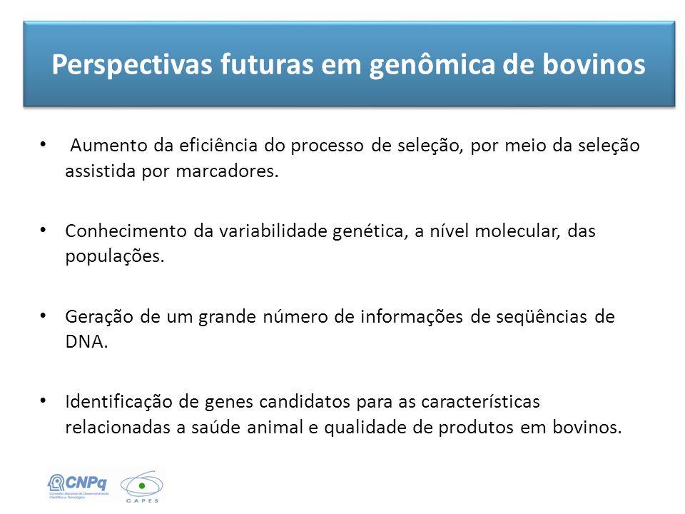 Perspectivas futuras em genômica de bovinos