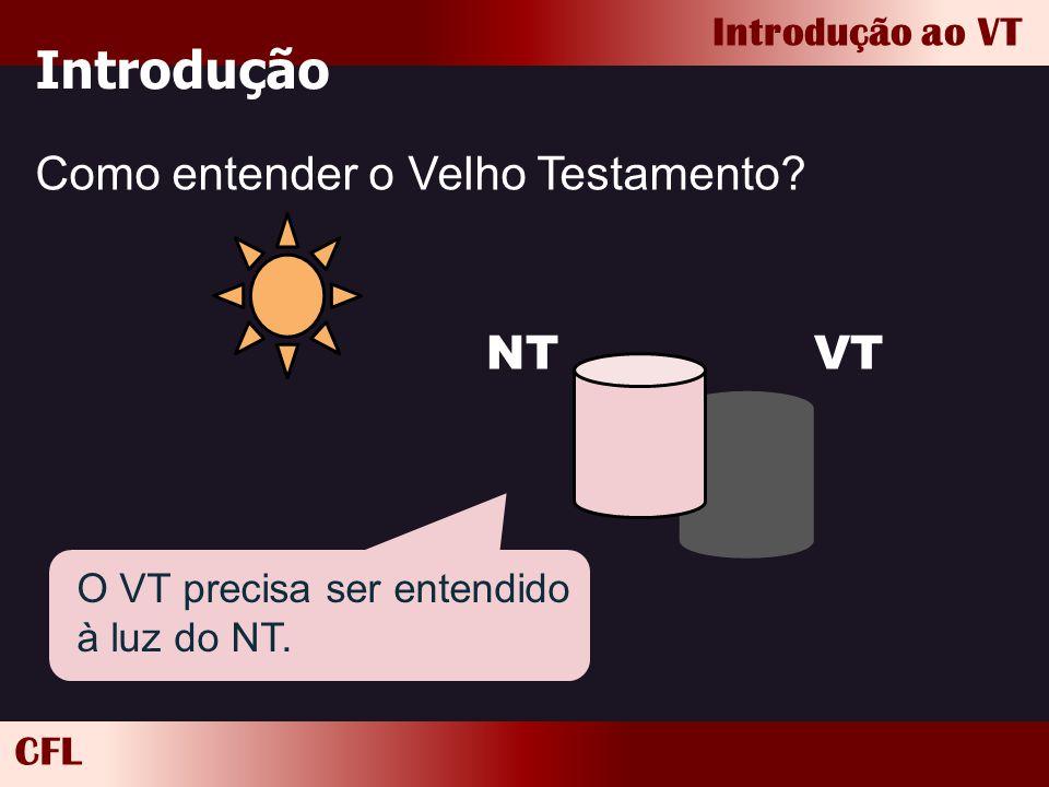 Introdução Como entender o Velho Testamento VT NT