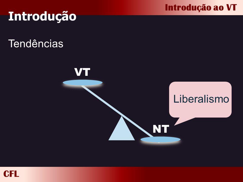 Introdução Tendências VT NT Liberalismo