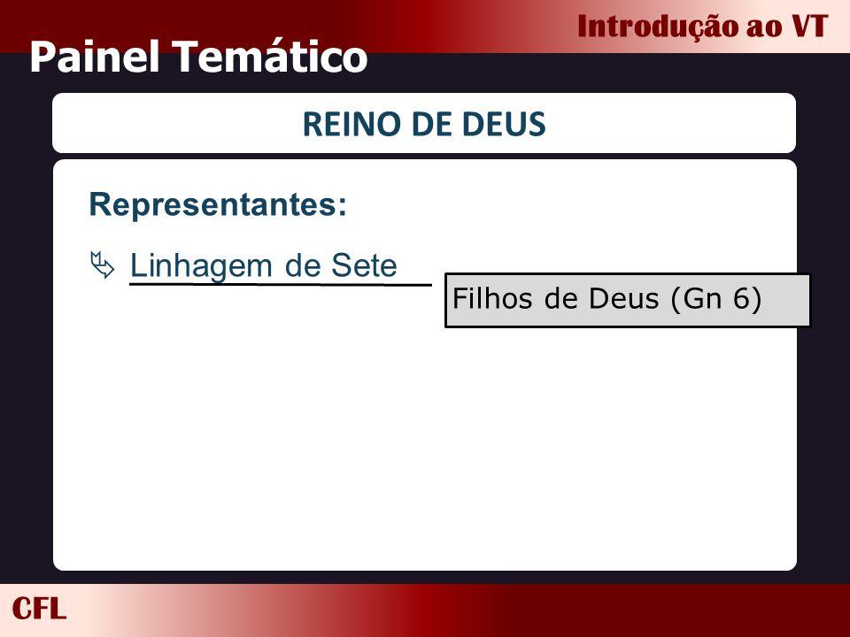 Painel Temático REINO DE DEUS Representantes: Linhagem de Sete