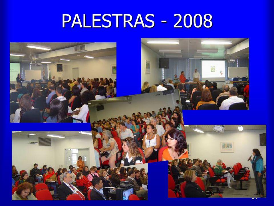 PALESTRAS - 2008