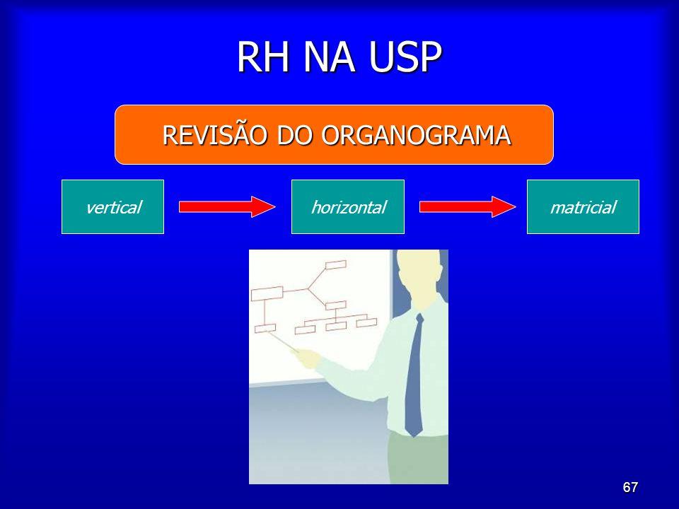 REVISÃO DO ORGANOGRAMA
