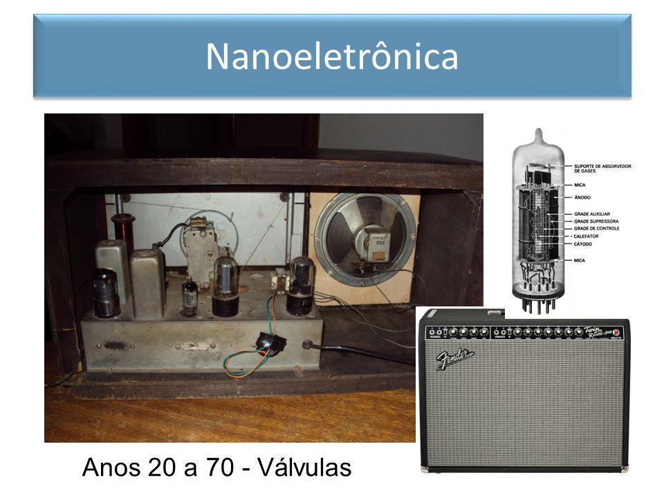 Nanoeletrônica Anos 20 a 70 - Válvulas