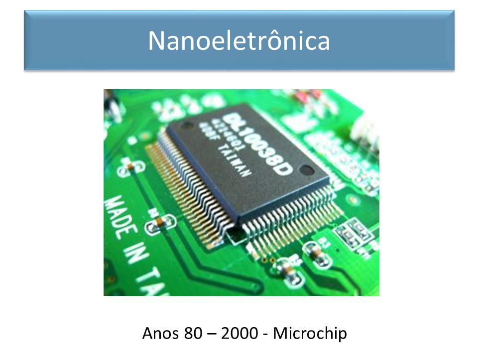 Nanoeletrônica Anos 80 – 2000 - Microchip