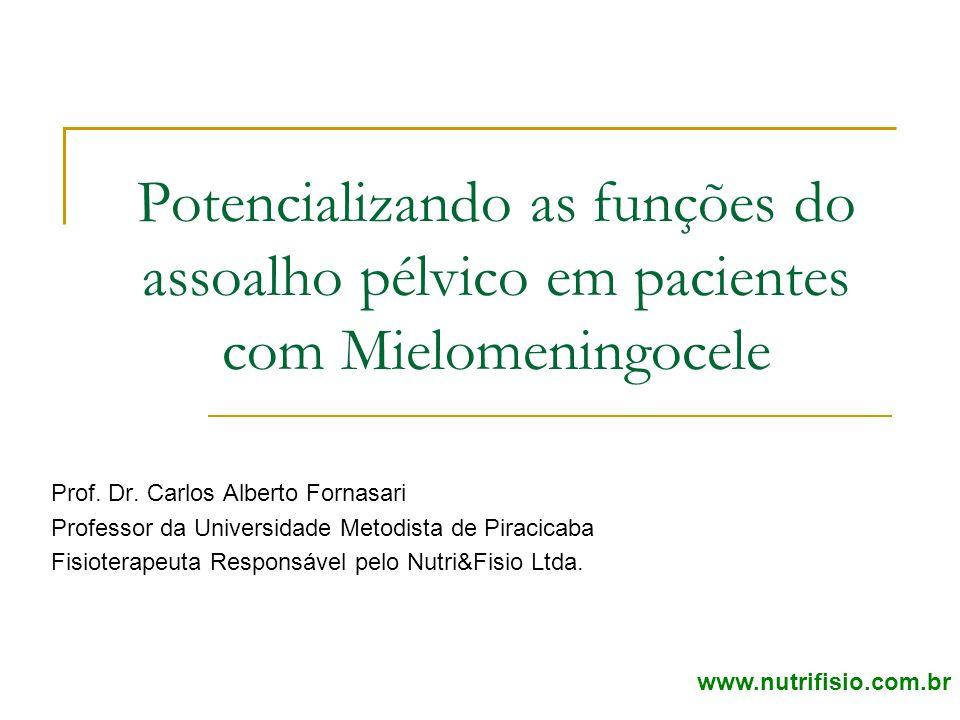 Potencializando as funções do assoalho pélvico em pacientes com Mielomeningocele