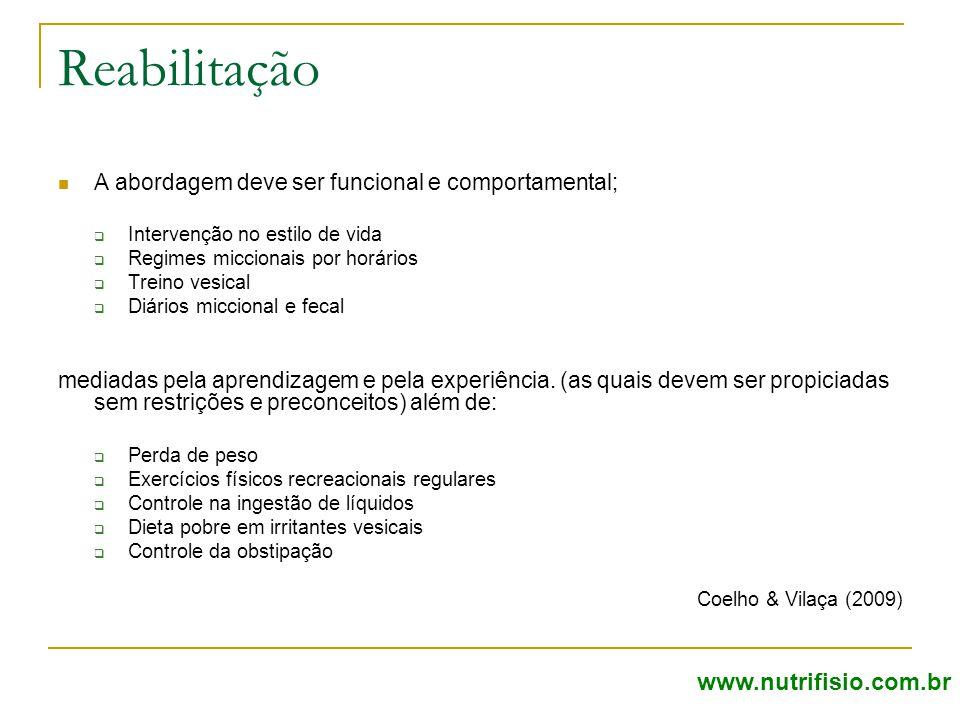 Reabilitação www.nutrifisio.com.br