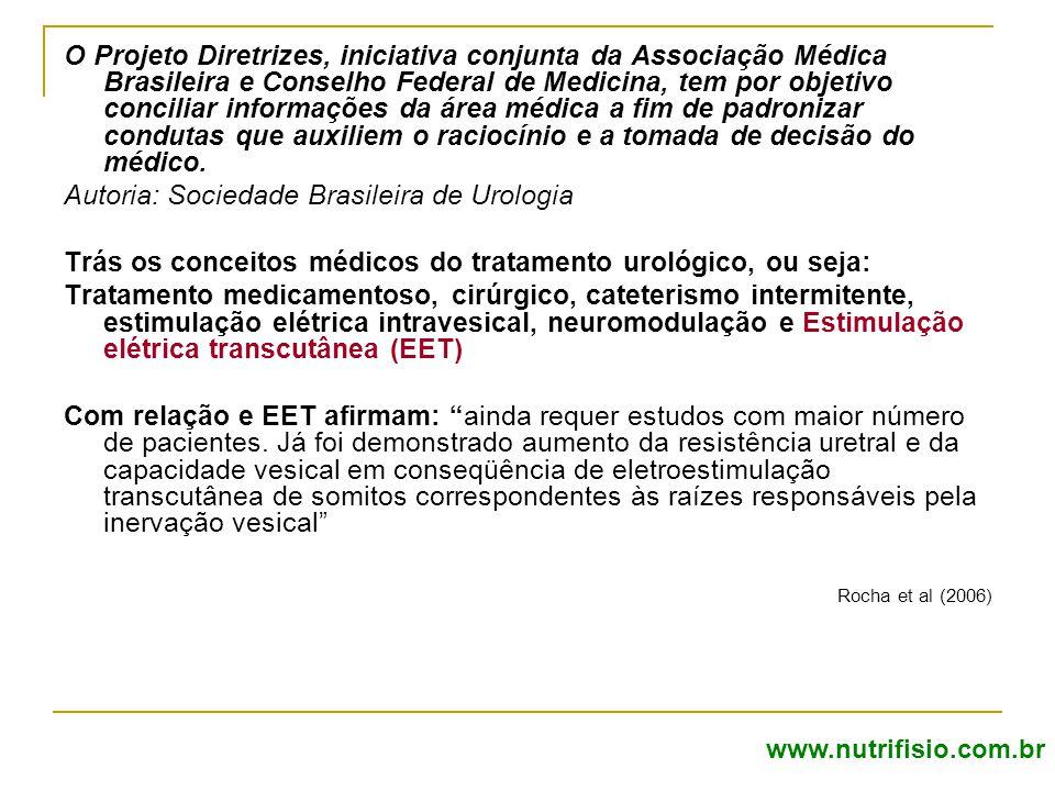 Autoria: Sociedade Brasileira de Urologia
