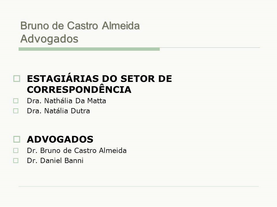 Bruno de Castro Almeida Advogados