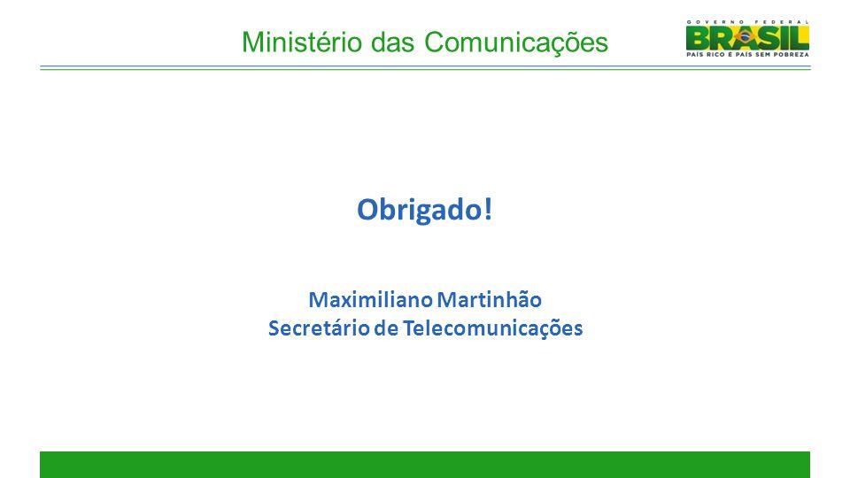 Maximiliano Martinhão Secretário de Telecomunicações