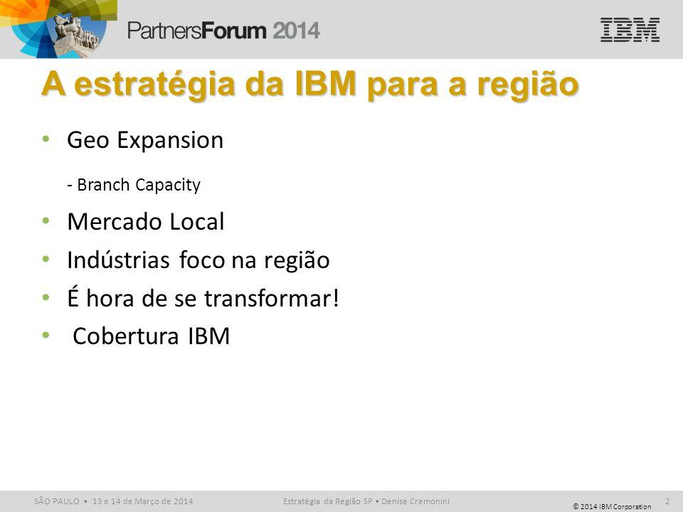 A estratégia da IBM para a região