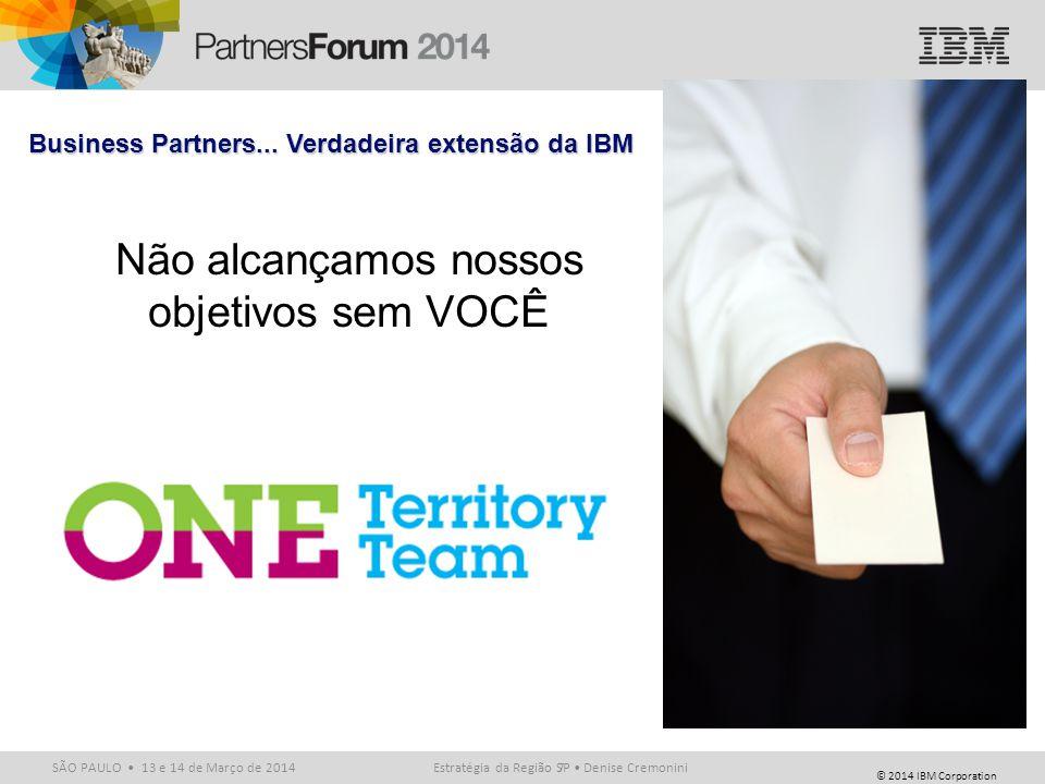 Business Partners... Verdadeira extensão da IBM