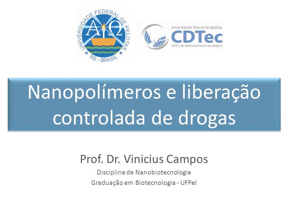 Nanopolímeros e liberação controlada de drogas